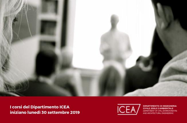 Collegamento a ICEA - Inizio delle lezioni A.A. 2019-2020