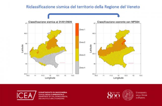 Collegamento a Riclassificazione sismica della regione Veneto